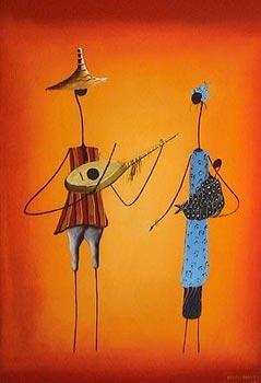 Daouda Diakhaté dans Artistes: Peintres & sculpteurs, etc... Peinture1